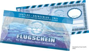 Gutschein-Tandemflug mit einem Gleitschirm über Görlitz oder Rothenburg/OL in Sachsen